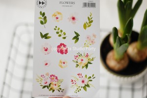 Flowers -  sticker set