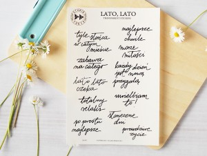 Lato, Lato - transparent stickers