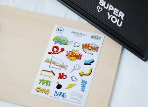 Awesome  -  sticker set