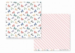 BEAUTIFUL LIFE - rush hour / lillipop - scrapbook paper