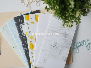 Notes Podróżnika - Journey Notebook WHITE -Summer edition