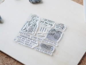 Warm & cozy - stamp set#103