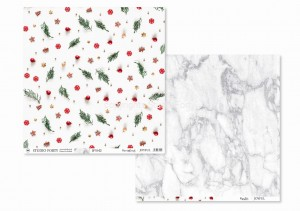 JOYFUL -Decorations / Marble - scrapbook paper