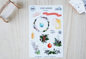 Very Merry - sticker set