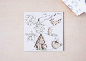 Joyful - Winter is magic - set of chipboards
