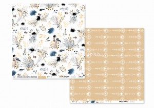 LUNARE  - Lunar garden/Magic chains - scrapbook paper