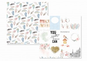 SO ROMANTIC-06- scrapbook paper