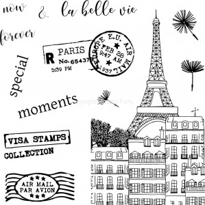 La Belle Vie - stamp set#108