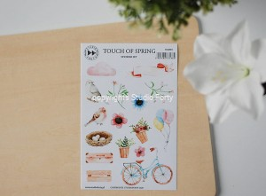 Touch of spring - sticker set
