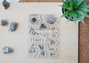 Fall Flowers -  stamp set#96