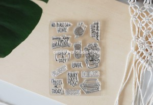 Cozy Home - stamp set#122
