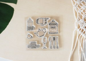 Domestic Goddes - stamp set#124