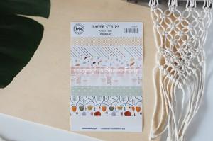 Paper strips- COZY TIME - sticker set