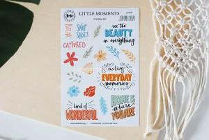 Little moments- sticker set