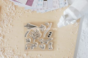 Woodland - stamp set#128
