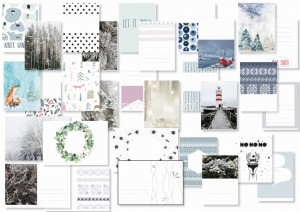 Nordica  - journaling cards (set of 15)