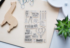 Celebrate  - stamp set#133 - presale