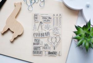 Celebrate  - stamp set#133