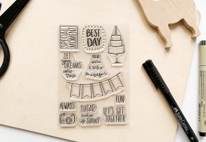Best Day  - stamp set#134 - presale