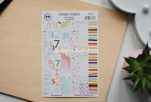 Let's  Party - Paper strips - sticker set