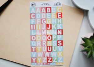 ABC vol1  - color stickers set