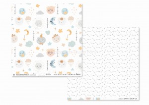 DON'T GROW UP-01- scrapbook paper