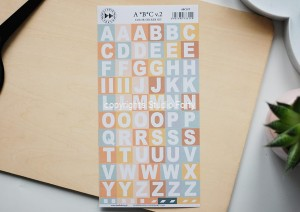 ABC vol2  - color stickers set