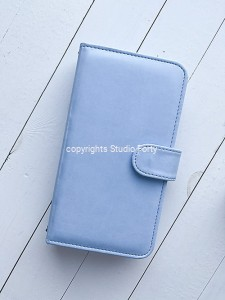 Journal Stories  - Notebook cover / okładka notesu  - Baby Blue