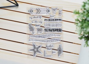 Summer Love  - stamp set#137