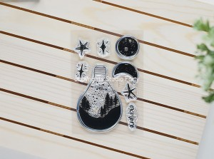 Night sky bulb - stamp set#145