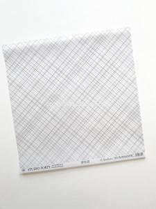 So Romantic 07 - vellum paper / kalka wzorzysta