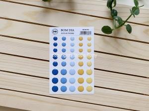 Bom Dia- 3D sticker set -dots / naklejki wypukłe- kropki