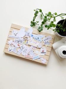 So romantic - paper die cut elements