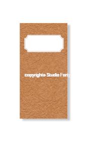 Notes Podróżnika - Journey Notebook WHITE- HERBARIUM edition