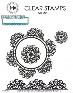 """Doily Lace"" - stamp set #45"