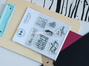 I love Books - stamp set #43