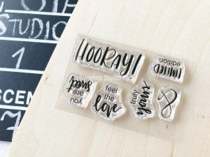 Hooray - stamp set