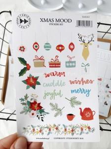 Xmas Mood -  sticker set