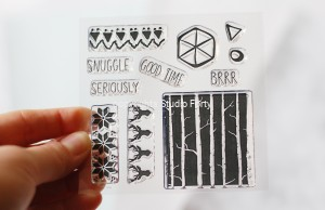 Snuggle - stamp set #80