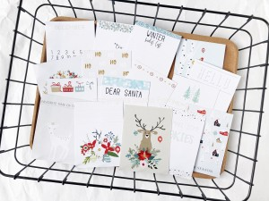 Xmas Mood - pocket scrapbooking cards